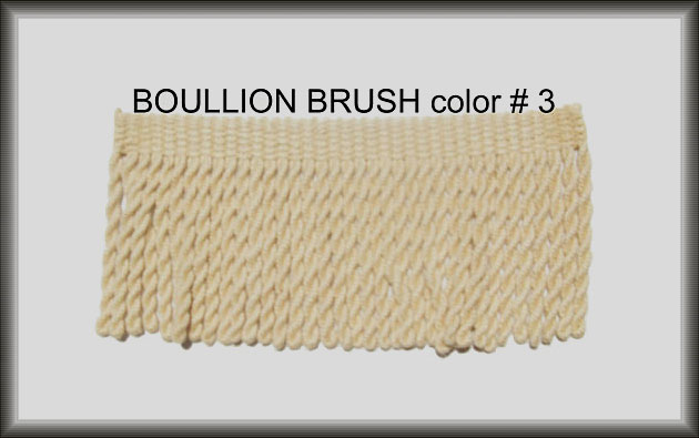 Turkish Boullion Rug Fringe