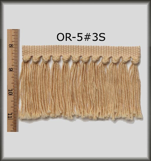 Orintal Short Rug Fringe