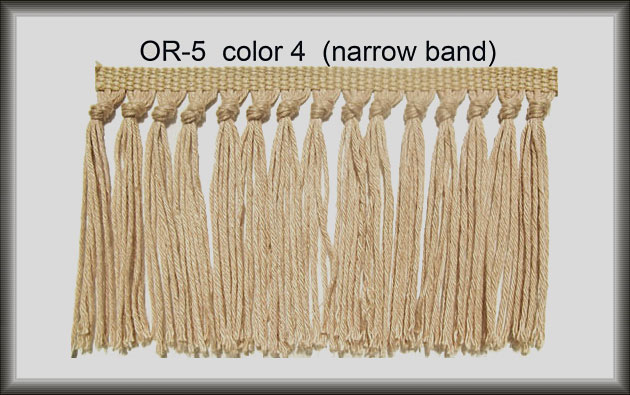 Narrow Band Brush  Rug Fringe