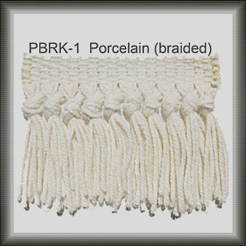 porcelain fringe for rug repair